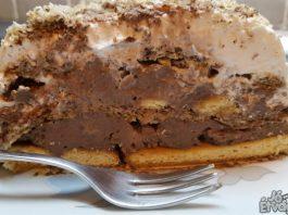 Kekszes csokis torta