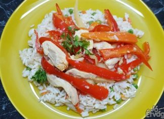 Kínai zöldséges csirkemell