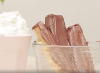 Házi Twix csokoládé