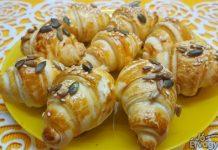 Ropogós croissant kifli