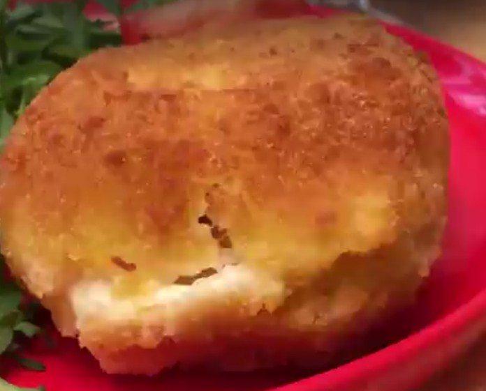 Töltött mozzarella