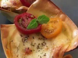Vegetáriánus lasagna