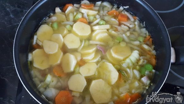 Burgonya főzése