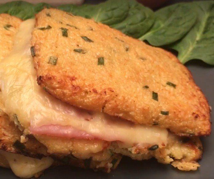 Karfiolos szendvics
