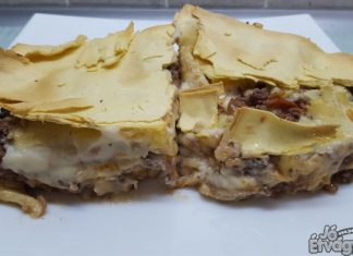 Lasagne marhahússal
