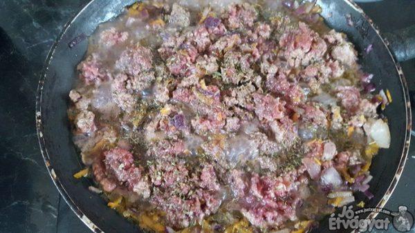 Marhahús főzése