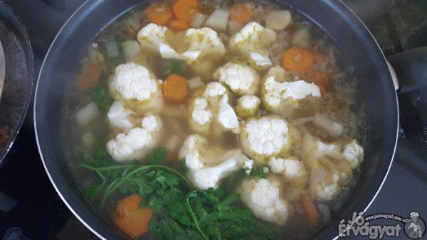 Zöldséges leves