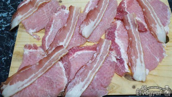 Baconos sertéskaraj