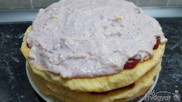Epres krémes torta