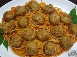 Húsgomboc spagetti