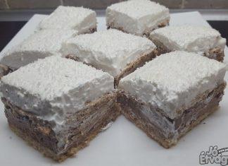 Kókuszos süti
