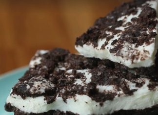 Oreó kekszes süti