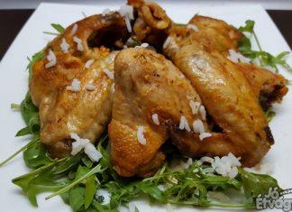 Sörben sült csirkeszárnyak