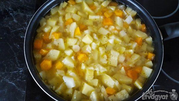 Puha zöldségek